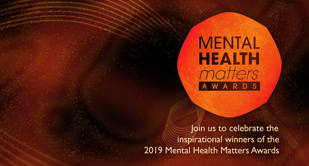 Join us to celebrate the inspirational winners of the Mental Health Matters Awards