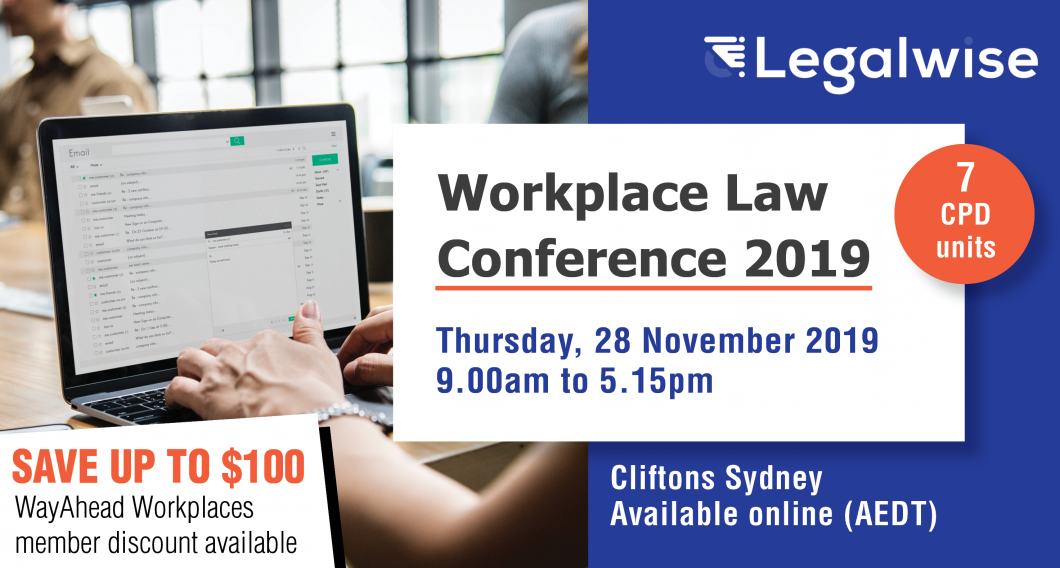 Workplace Law Conference 2019